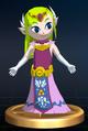 Zelda (Wind Waker) - Brawl Trophy.png