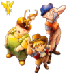 The artwork used for the Spirit featuring Dion, Max, and Jack from Marvelous: Mouhitotsu no Takarajima. Ripped from Game Files