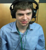 Battlecow commentating on the Grand Finals set of Apex 2013.
