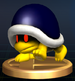 Buzzy Beetle trophy from Super Smash Bros. Brawl.