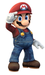 Render used for Project Plus Mario.