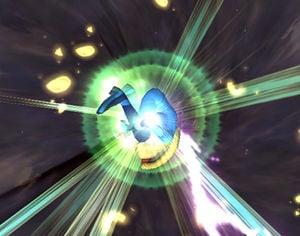 Picture of Zero Suit Samus' Final Smash in action