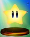 Starman trophy from Super Smash Bros. Melee.