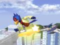 Falco Warp Star Melee.png