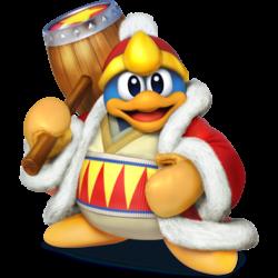 King Dedede as he appears in Super Smash Bros. 4.