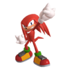 Render of Knuckles the Echidna from the official website