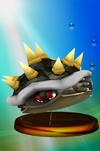 Bowser trophy from Super Smash Bros. Melee.