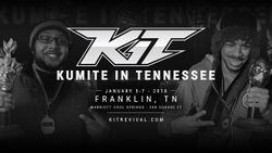 Banner for Kumite in Tennessee 2018.
