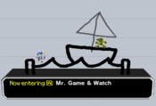 One of the boat transformations on PictoChat.
