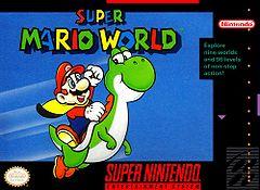 Box art of Super Mario World.