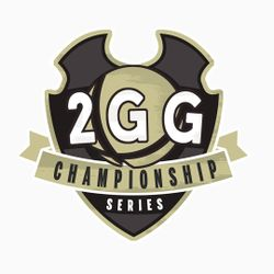 Logo for the 2GG Championship Series of tuornaments.