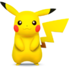 Pikachu as it appears in Super Smash Bros. 4.