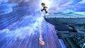 Luigi Taunt Meteor Smash Brawl.png