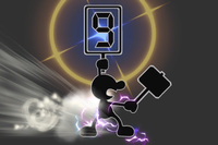 Extreme Judge in Super Smash Bros. for Wii U.
