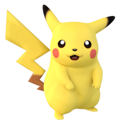 Render used for Project Plus Pikachu.