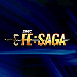 The logo for 2GGC: Fire Emblem saga.
