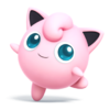 Jigglypuff as she appears in Super Smash Bros. 4.