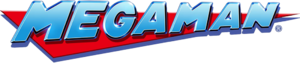 The logo representing the Mega Man universe.