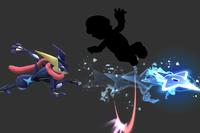 Shifting Shuriken in Super Smash Bros. for Wii U.