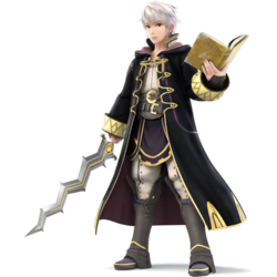 Male Robin as he appears in Super Smash Bros. 4.