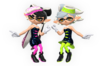 Official artwork of the Squid Sisters from the SSBU Website.