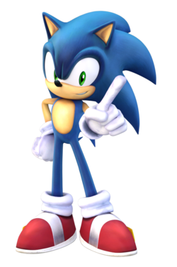 Render used for Project Plus Sonic.