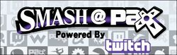 "Official logo for the ""Smash @ PAX Prime"" national tournament."