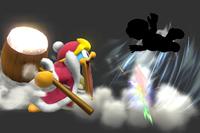 Dedede Storm in Super Smash Bros. for Wii U.