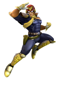 Render used for Project Plus Captain Falcon.