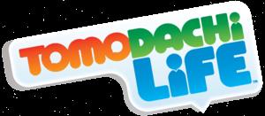 Tomodachi Life title logo.