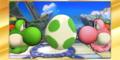 SSB4-3DS Congratulations Classic Yoshi.png