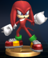 Knuckles - Brawl Trophy.png