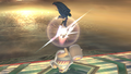 Marth Down Aerial Meteor Smash Brawl.png