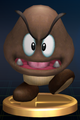 Giant Goomba - Brawl Trophy.png