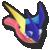 Greninja's stock icon in Super Smash Bros. for Wii U.