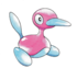 Official artwork of Porygon2 by Ken Sugimori. Found here.