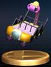 Cargo trophy from Super Smash Bros. Brawl.