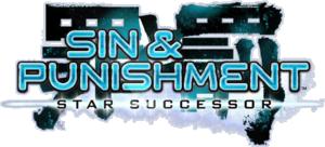 Sin & Punishment: Star Successor logo, from [1].