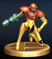 Samus (Power Suit) - Brawl Trophy.png