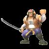 Render of Samurai Goroh from the Smash Ultimate Website