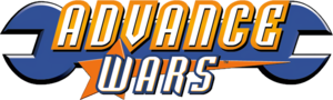 Logo of the first Advance Wars game for Game Boy Advance. Cropped from warswiki:File:AW_NACover.jpg.