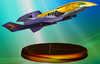 Falcon Flyer trophy from Super Smash Bros. Melee.