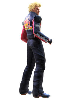 Jacky Bryant as he appears in Virtua Fighter 5.