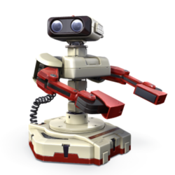 R.O.B., as he appears in Super Smash Bros. 4.