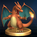 Charizard trophy from Super Smash Bros. Brawl.