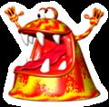 Brawl Sticker Blargg (Yoshi's Story).png