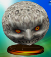 Moon trophy from Super Smash Bros. Melee.