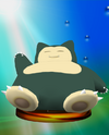 Snorlax trophy from Super Smash Bros. Melee.