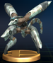 Metal Gear RAY trophy from Super Smash Bros. Brawl.