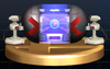 Subspace Bomb trophy from Super Smash Bros. Brawl.